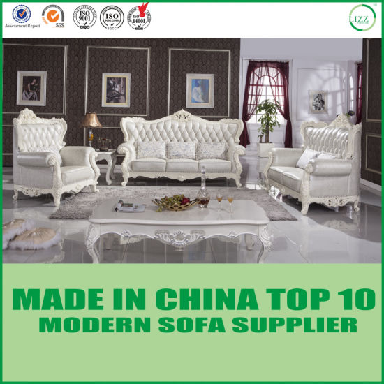 Antique Luxury Rococo French European Chesterfield Italian Leather Sofa
