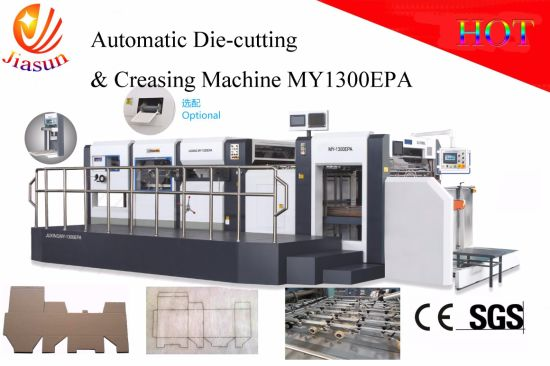 Offset Printed Box Die-Cutter with Stripping Unit