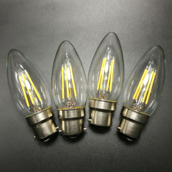 Factory Wholesale Filament Bulb Lamp 4W E14 LED Candle Light pictures & photos