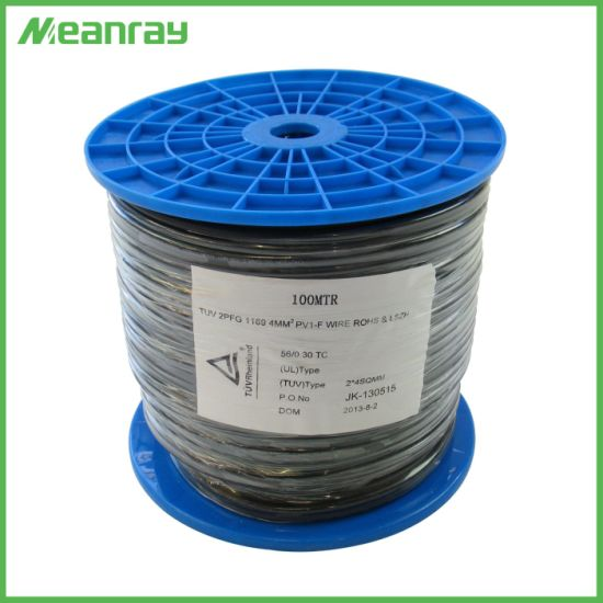 4mm PV Cable Solar Cable Photovoltaic Cable Single Core Solar Cable pictures & photos