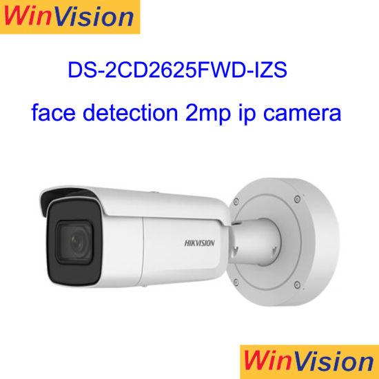 Face Detection Original H  265 Bullet 2MP 1080P Full HD Hikvision IP Camera  Ds-2CD2625fwd-Izs