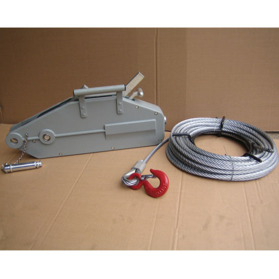 China Wire Rope Pulling Hoist, Hand Winch Gp Models - China Hoist ...