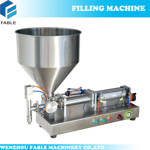 News Mall Manual Semi Liquid Double Head Filler for Canning (FTP-2) pictures & photos