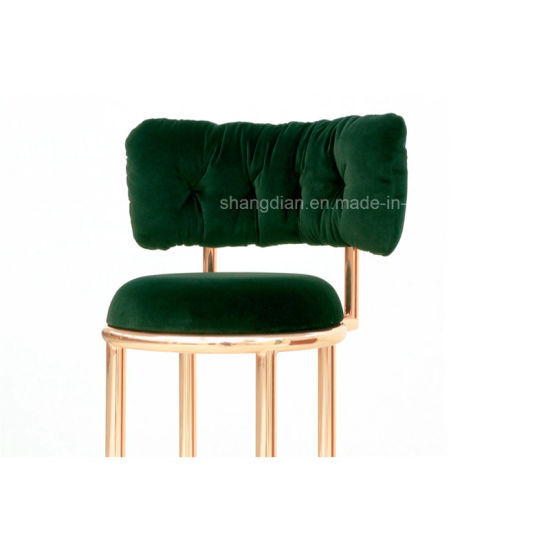 Hotel High Metal/Stainless Steel Fabric/ Leather Bar Stool Chair/Sex Bar Chair (SKB 01) pictures & photos