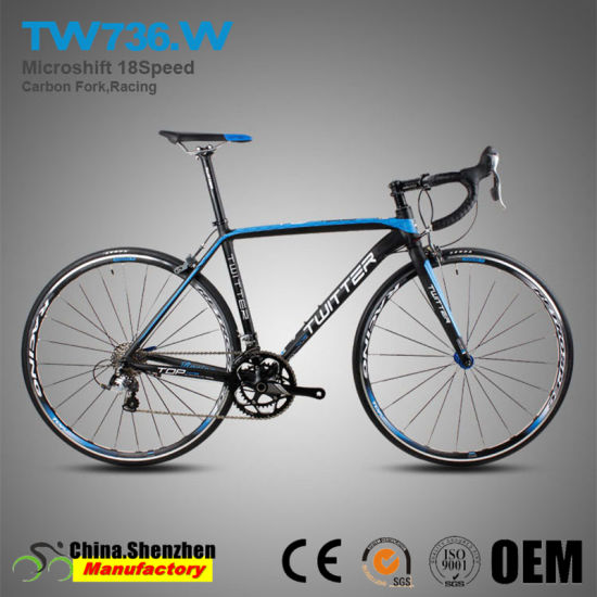 700c 18speed Aluminum Road Racing Bikes with carbon Fiber Fork pictures & photos