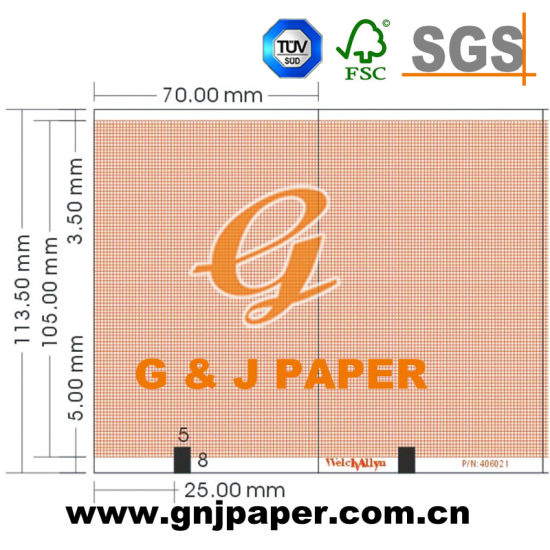 CE Certified Medical Graph Paper Packed in Carton pictures & photos