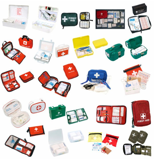 General Medical Supplies Emergency Tools Deluxe Workplace First Aid Kit pictures & photos