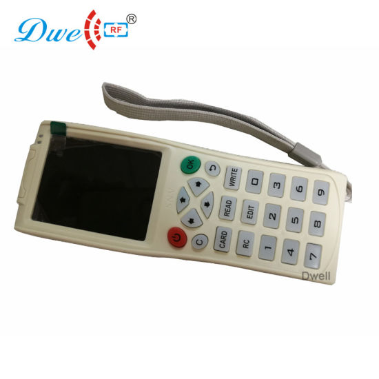 Handheld RFID Writer Card Copier Duplicator Cloner with Em4100 125kHz  13 56MHz Frequency