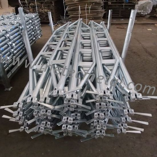 Ring Lock Scaffolding System Components Double Truss Ledgers