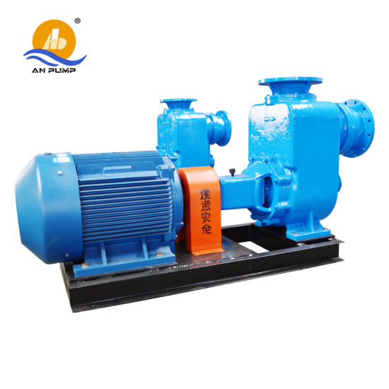 Diesel Engine Self-Priming Centrifugal Sewage Pump pictures & photos