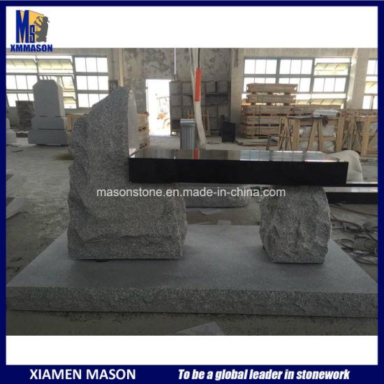 Hot Design Natural Stone Memorial Bench