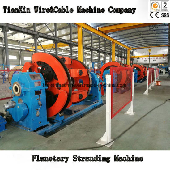 Cage Type Planetary Wire Cable Stranding Machine with Back Twisting