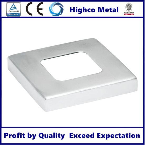 316 Stainless Steel 2 Inch Balustrade Railing Handrail Pipe Floor Flange