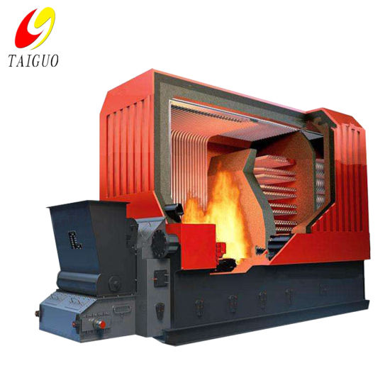 Palm Oil Shell Fired Thermal Oil Boiler Heater System Generation