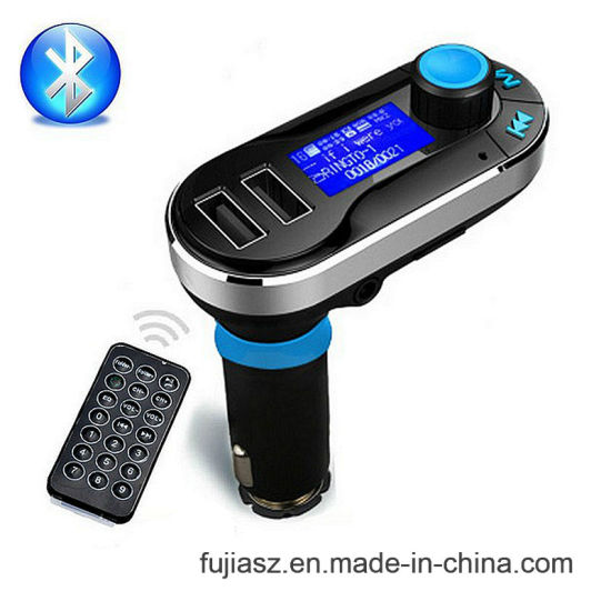 New Wireless Bluetooth Car Kit MP3 Player FM Transmitter SD LCD Dual USB Charger