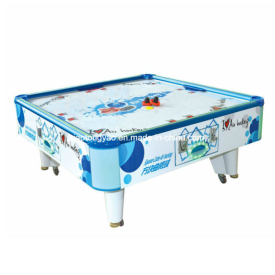 Admirable 4 Players Big Coin Operated Adult Air Hockey Table For Playground Interior Design Ideas Tzicisoteloinfo