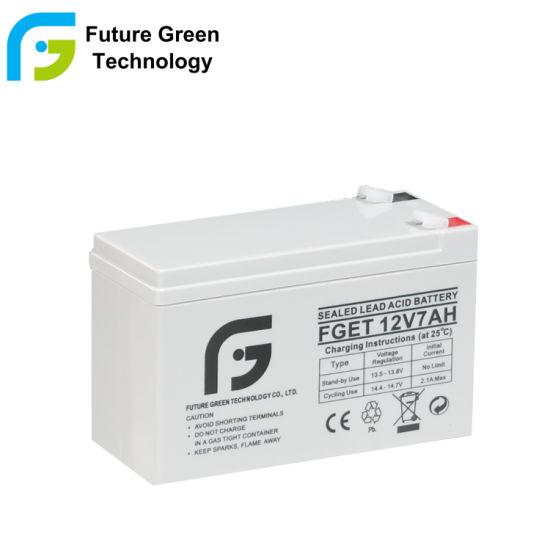 12V 7ah Wholesale VRLA Sealed Lead Acid Storage Battery for UPS