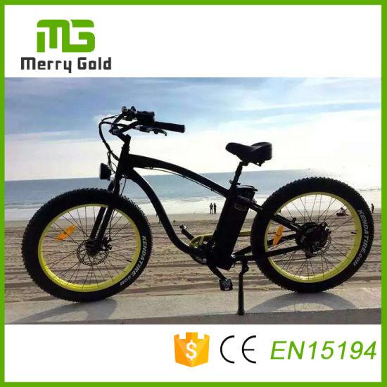 Cheap Adult 48V 500W Big Tyre Electric Dirt Bike Bicycle