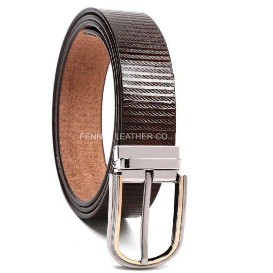 High Quality Genuine Leather Fashion Men Belt (EU012) pictures & photos