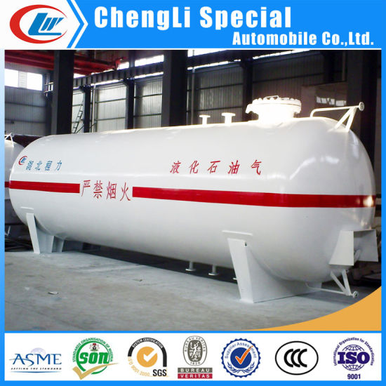 High Quality 120cbm 60ton LPG Storage Tank with Safety Accessories pictures & photos