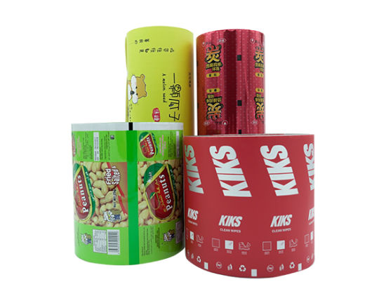 Hot Sale Customized Plastic Food Grade Packing Film for Food Bags