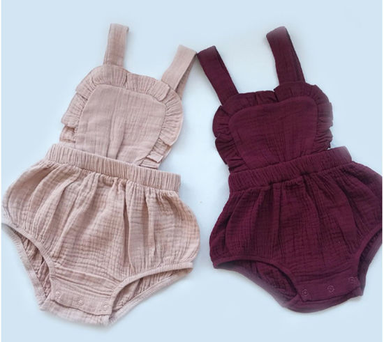 Bkd New Design Popular Baby Clothes Infants Girl Baby Bodysuit