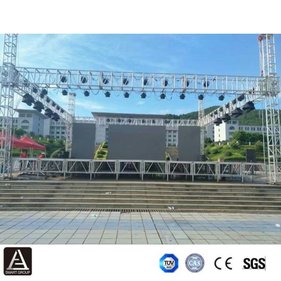 OEM Concert Exihition Stage Equipment Rental Aluminium Truss Stage System  Factory Price