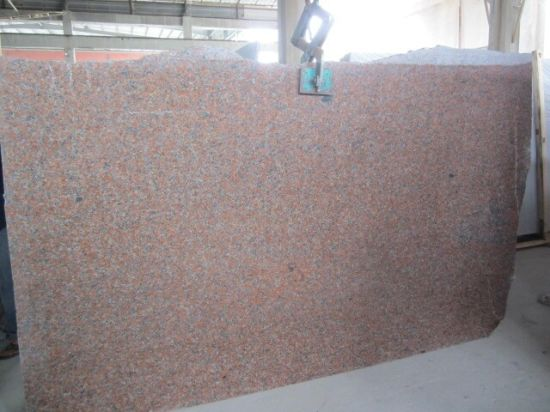 Natural Stone Maple Red China Granite with Slabs Tiles for Floor Wall