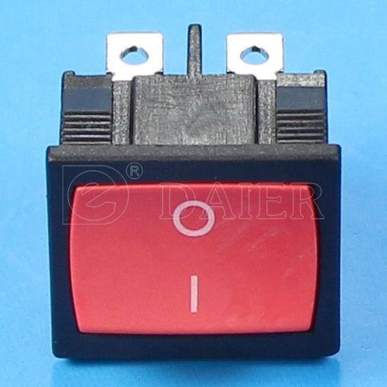 On-On Rectangle Rocker Switch SPDT 6A