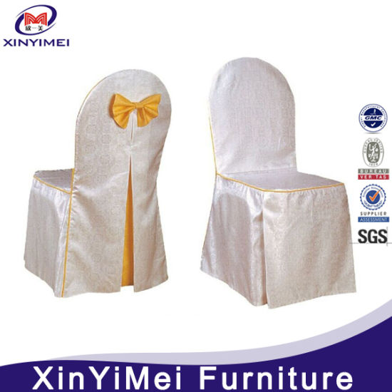 Factory Price Custom-Made Stretch Chair Cover Table Cloth (XYM-BC59) pictures & photos