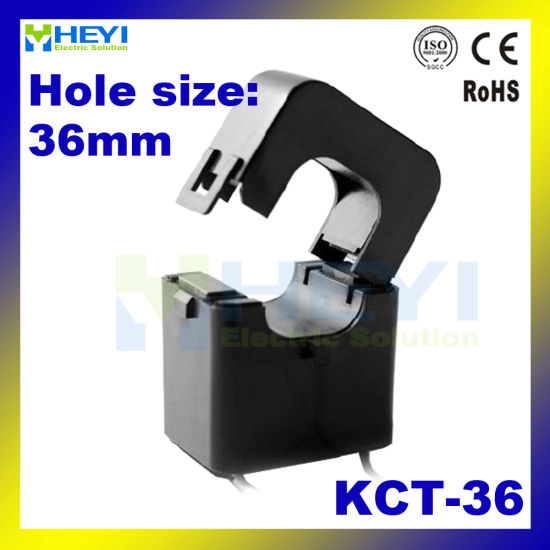 Kct-36 500A/50mA Split Core Current Sensor with Switchboard