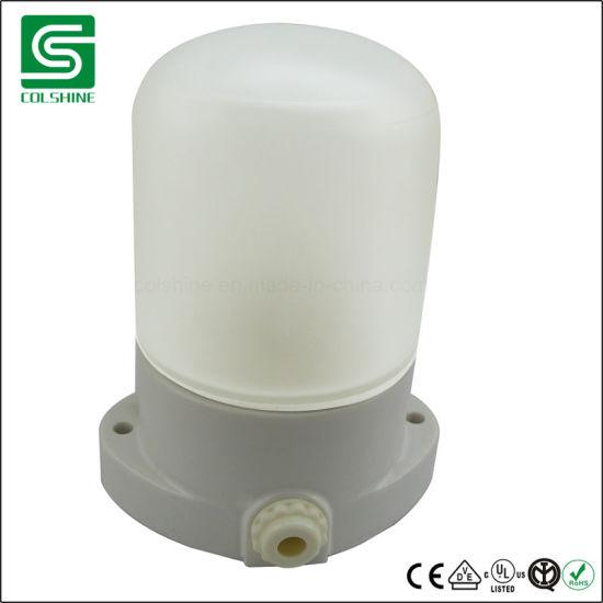 E27 Porcelain Lamp Holder Waterproof Bathroom Light Fixture