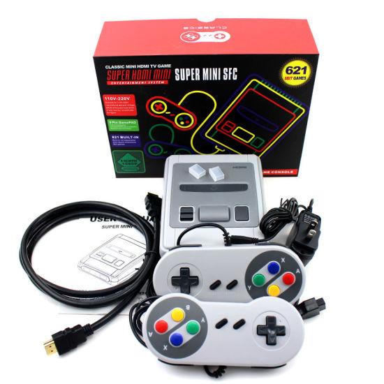 621 Games Childhood Retro Mini Classic 8 Bit Video Game Console Handheld  Gaming Player
