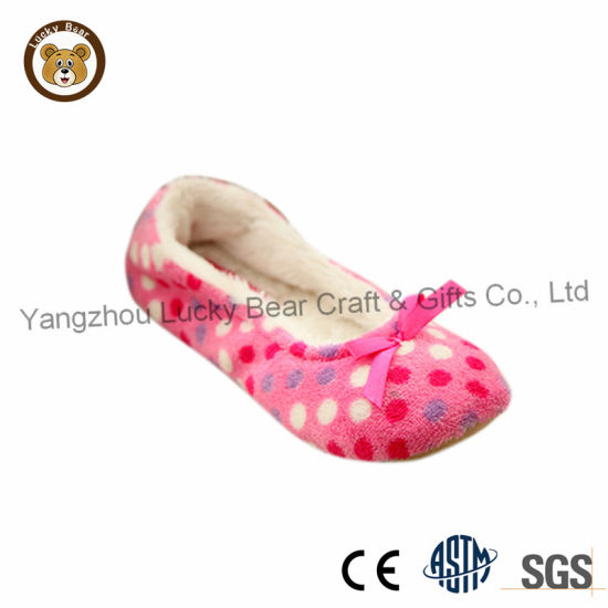 New Model Knitted Fabric fashion Indoor Dance Shoes for Lady
