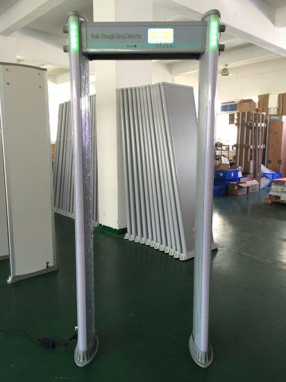 """Light Weight IP65 Waterproof 33 Zones Door Frane Metal Detector with 7"""" LCD Display"""