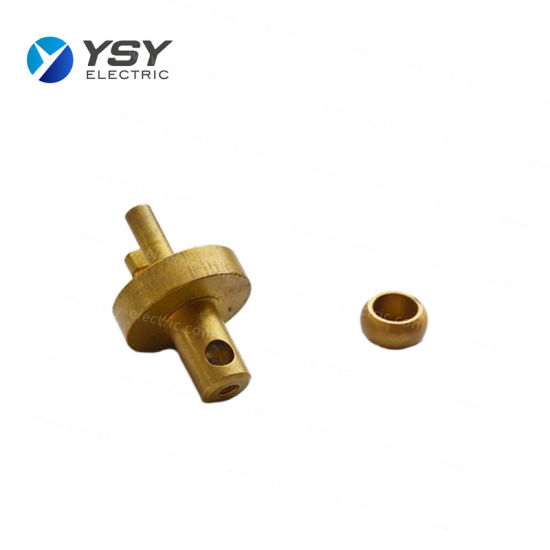 High Precision Turned Parts Brass/Brass Turning Tractor Parts pictures & photos