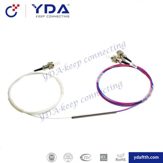1x2 FC//UPC Fiber Optic PLC Splitter Fiber splitters Fiber pigtails FBT splitters