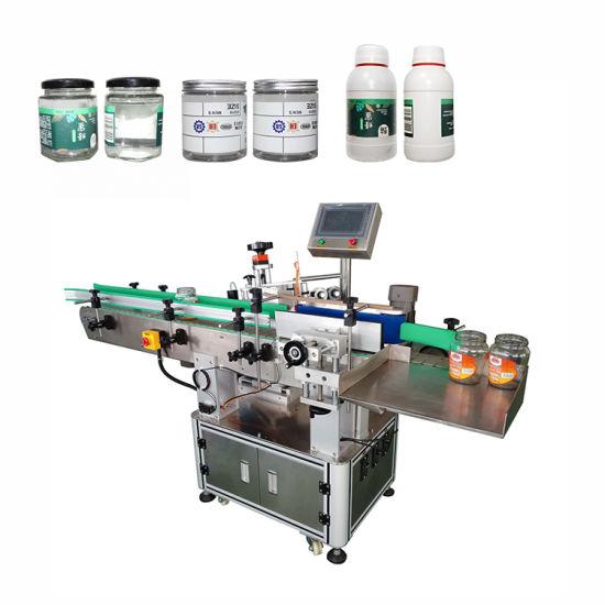 Automatic Round Bottle Labeling Machine with Bottle Arranging Machine (PST-C01)