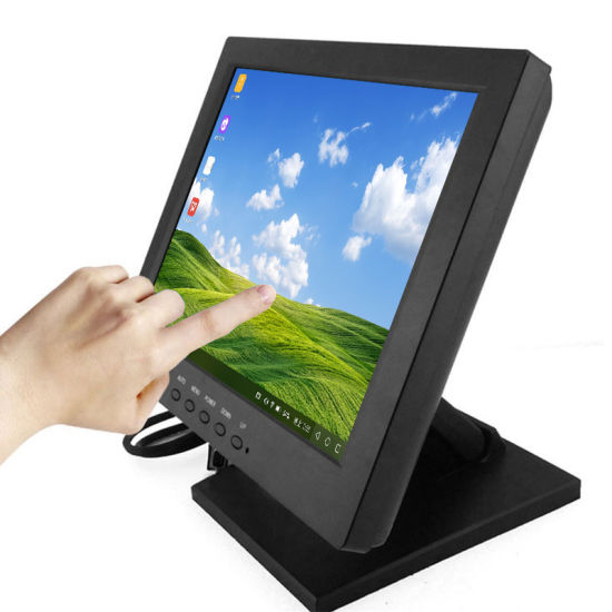 10.4 Inch Resistive Touchscreen Monitor Mini Size 10 Inch TFT LCD Touch Screen Monitor
