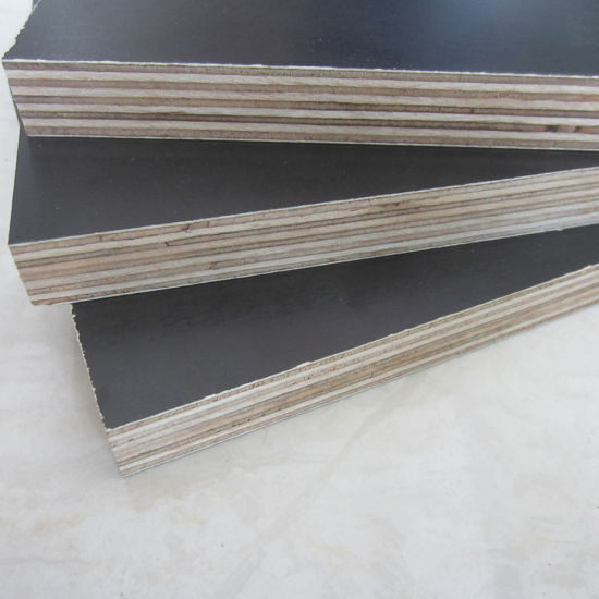 Film Faced Shuttering Panles Container Flooring Plywood Phenolic Resin Board Manufacturer
