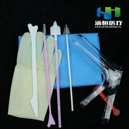8504 Disposable Gynecological Examination Kit Femal Cervial Sampling Kit