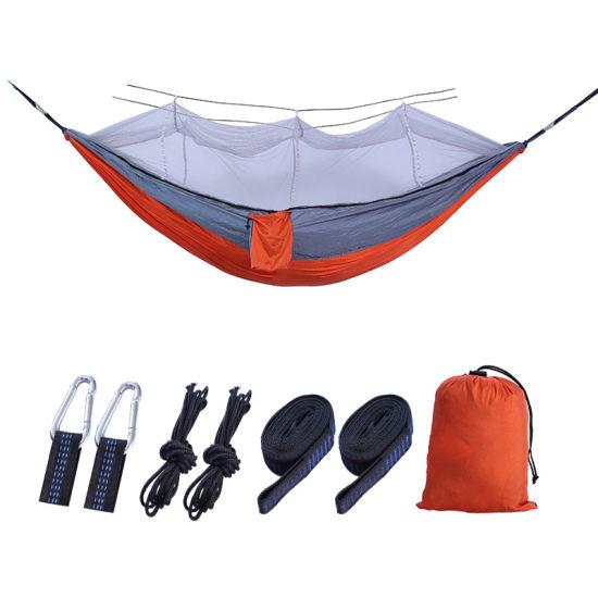Portable Outdoor Camping Hammock Tent No Mosquito Net Nylon Hanging Swing Chair Hammocks