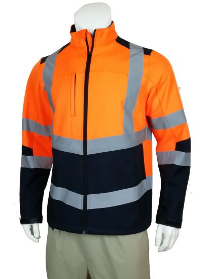 En20471 Fty OEM Winter Softshell High Visibility Safety Workwear