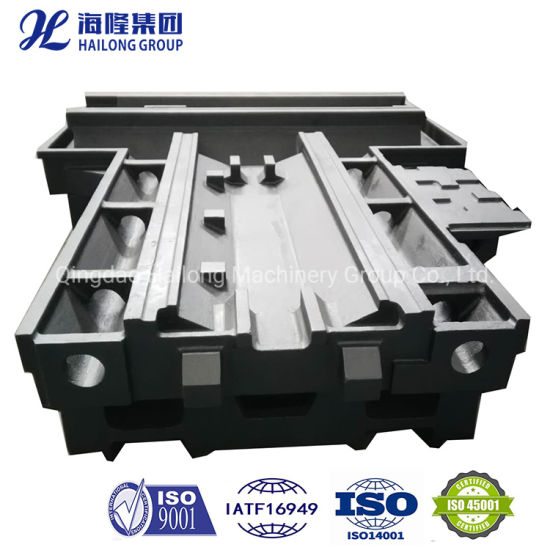 Monthly Deals Large Lost Foam Sand Customized Gray / Ductile Iron CNC Machine Lathe Bed Casting