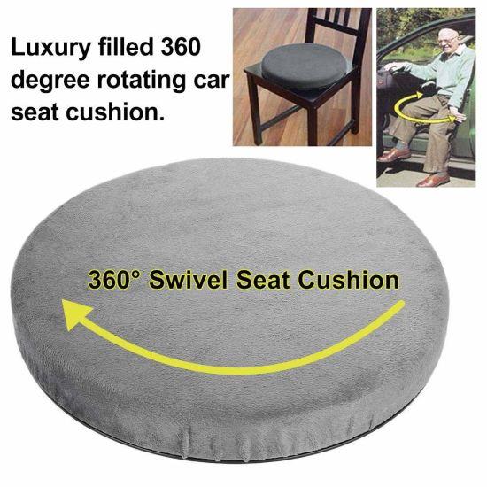 360° Swivel Car Seat Cushion for Elderly Easy Move