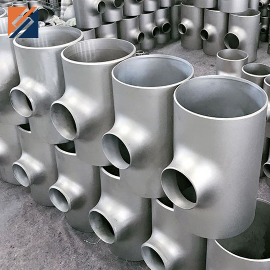 Stainless Steel Sanitary Food 90d/45D Welded Elbow/Bend Equal/Short Tee Pipe Fitting
