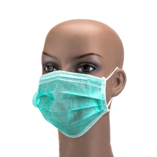 Disposable 3ply Non Woven Anti Flu Virus Dust Mouth Mask Face Masks for Sale