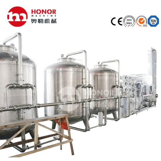 2000lph RO Water Filter Treatment Equipment/Reverse Osmosis System/Water Purifier/Water Purification Device