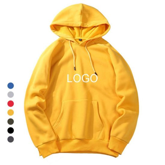 2021 Wholesale OEM Hoodie Customised Sweatshirt Long Sleeve Printed Pullover Hoodies