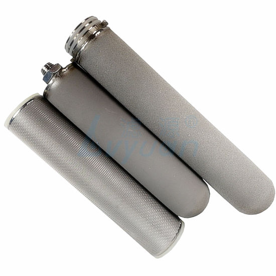 1 Micron Sintered Stainless Steel Water Filter 5 Micron Stainless Steel Water Filter
